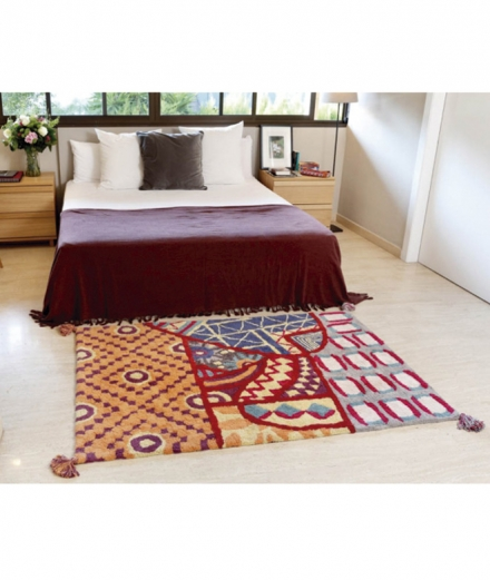 Alfombra lavable Indian